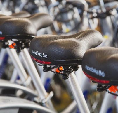 W Pobiedziskach można już wypożyczać rowery Nextbike